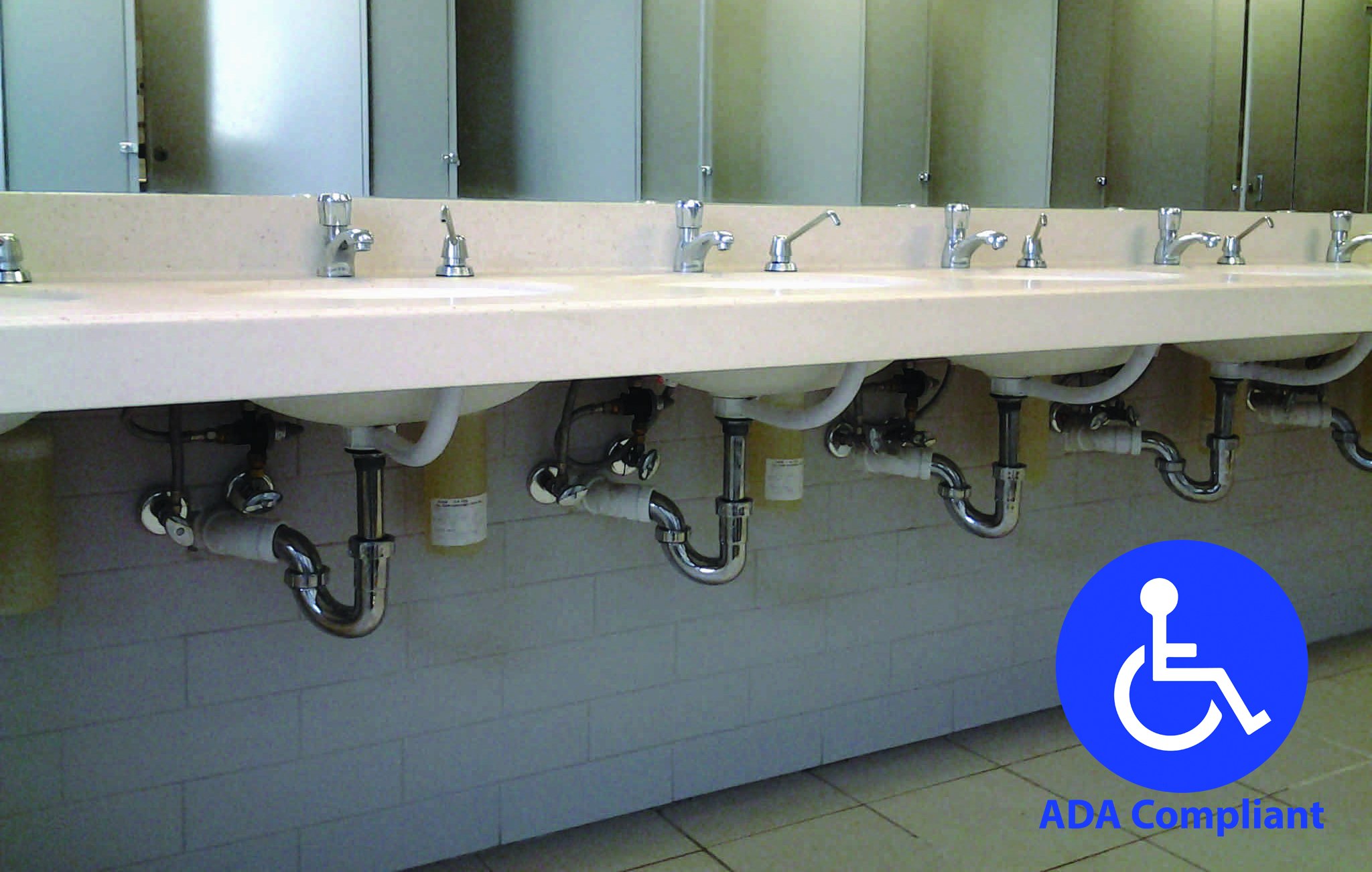 Example of an ADA Compliant restroom