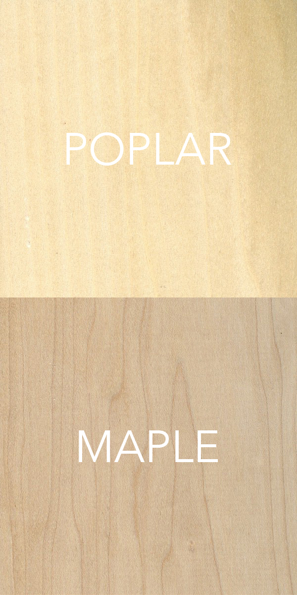 Poplar and Maple