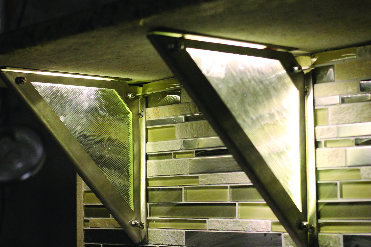 Learn about LED Lighting and how we incorporated it into our countertop supports