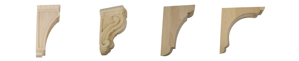 This Is An Image Of Several Different Wood Corbel Designs To Show Their  Variety.