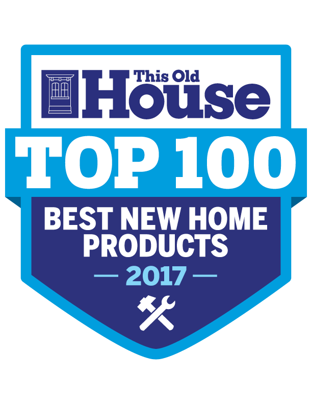 This Old House - Top 100 Products of 2017 - Award Logo