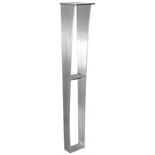 Anteris Countertop Support Leg - 6x5x34.50 - Stainless