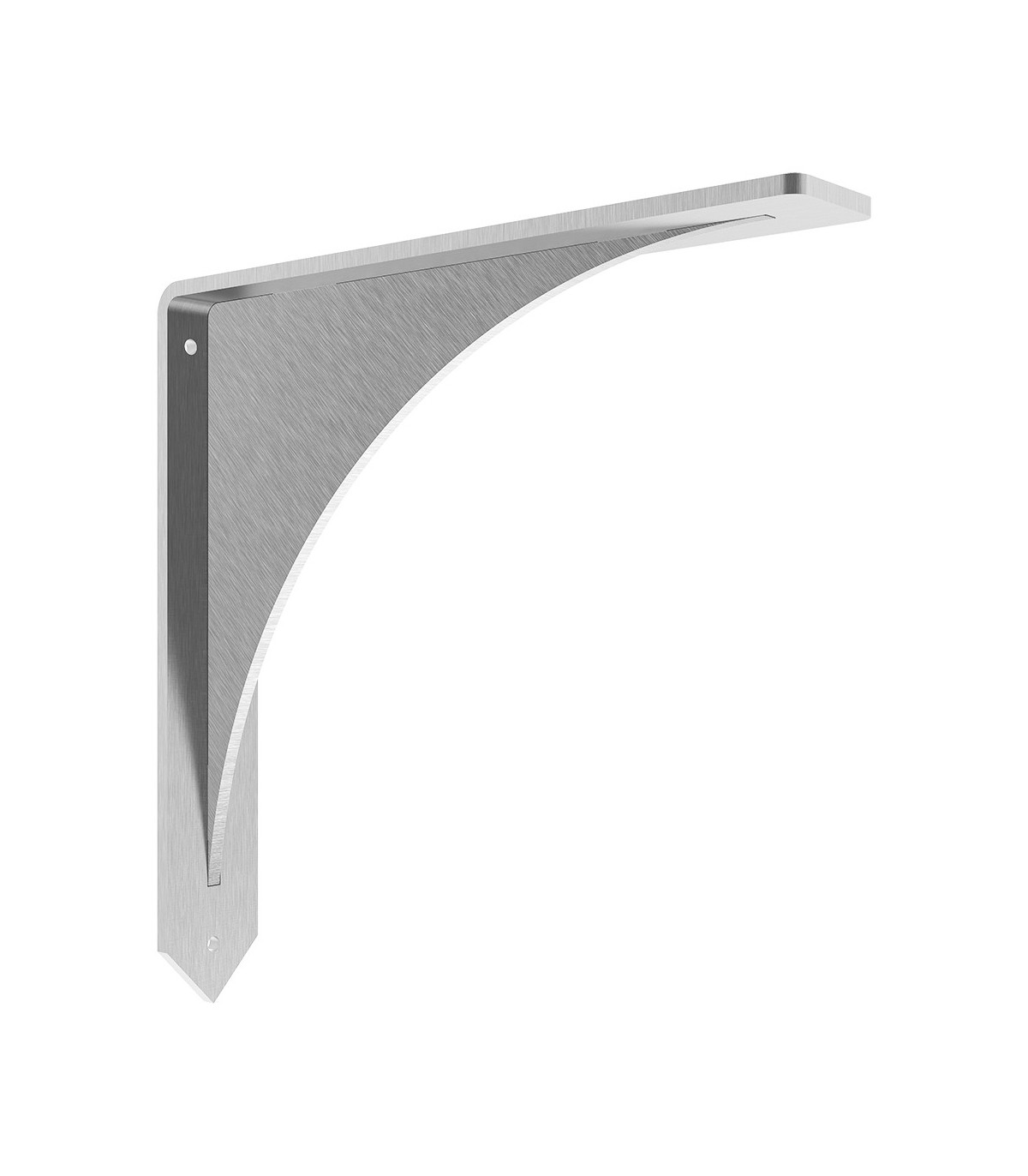 Arrowwood Granite Countertop Bracket 16x2x16 Stainless
