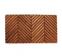 Arbor Teak Wood Shower Mat