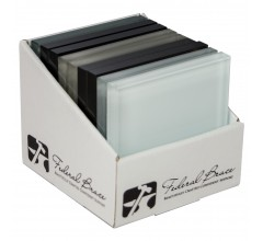 Back Painted Glass Sample Box