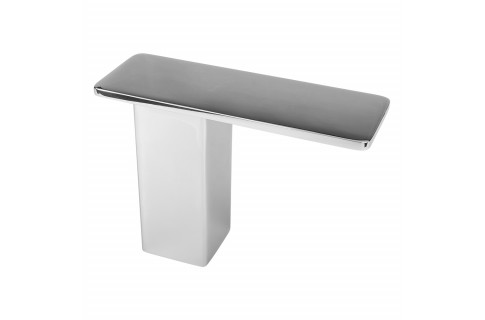 Stonehaven Countertop Post Support - 7x2.50x5 - Polished Stainless (Clearance)