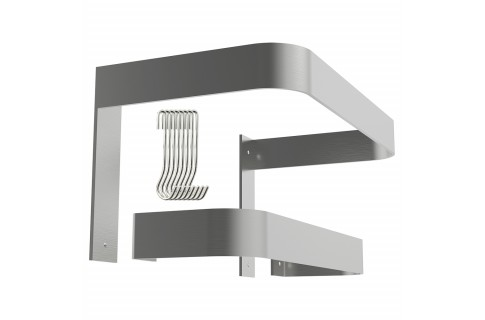 Wall Mount Pot Racks