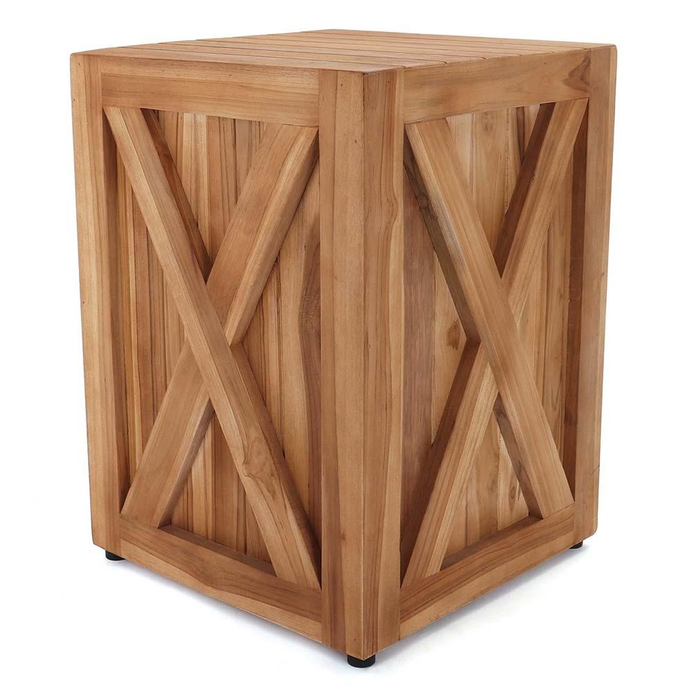 Kilderkin Teak Wood Side Table