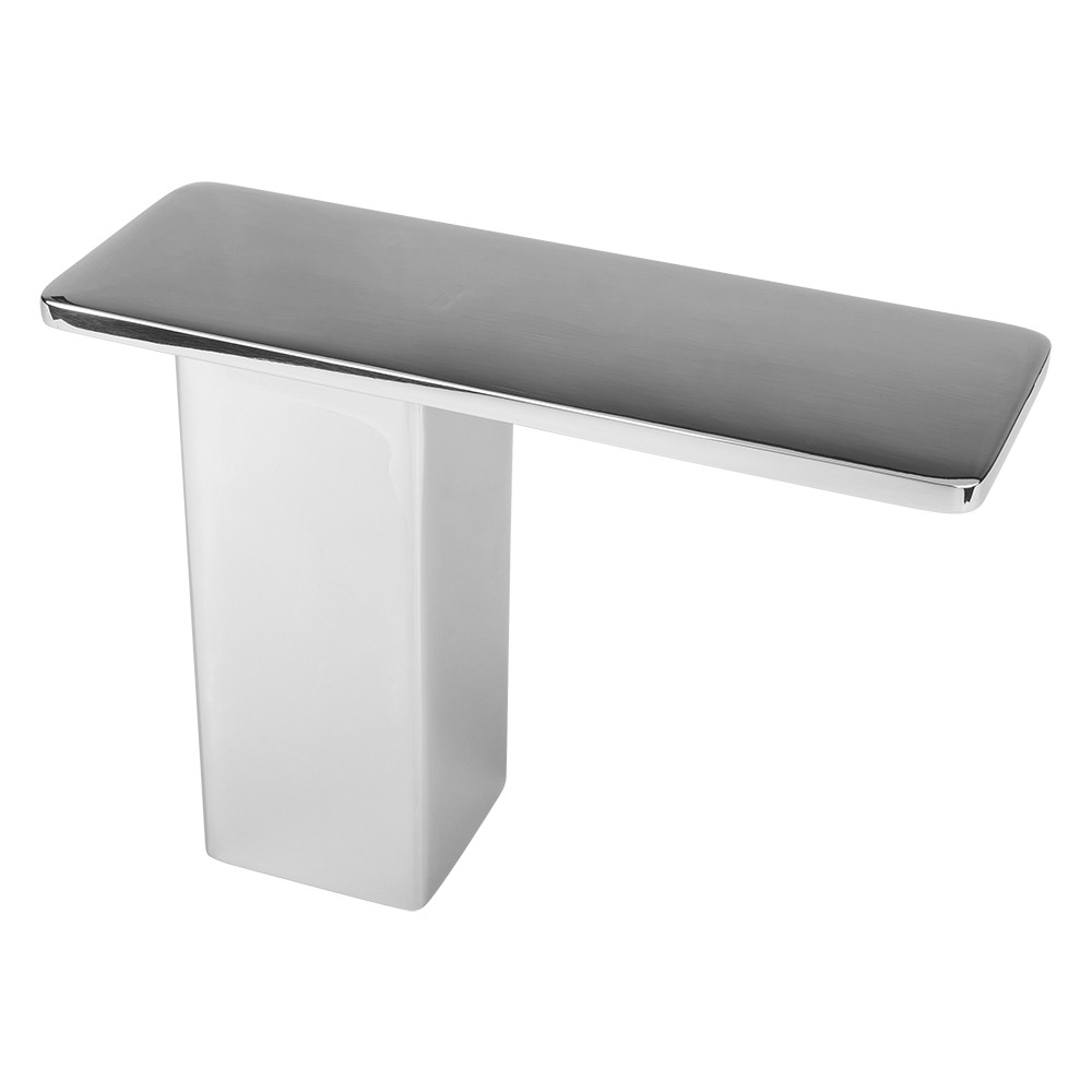 Stonehaven Countertop Post Support - 7x2.50x5 - Polished Stainless