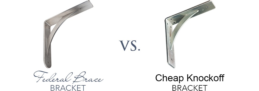 Federal Brace vs. Cheap Knockoff