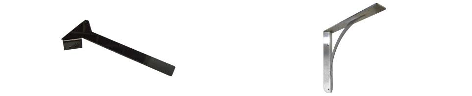 ANTEM HIDDEN CORNER BRACKET AND ASBURY DESIGNER CORNER BRACKET