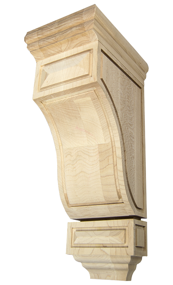 Scalloped Mission Corbel
