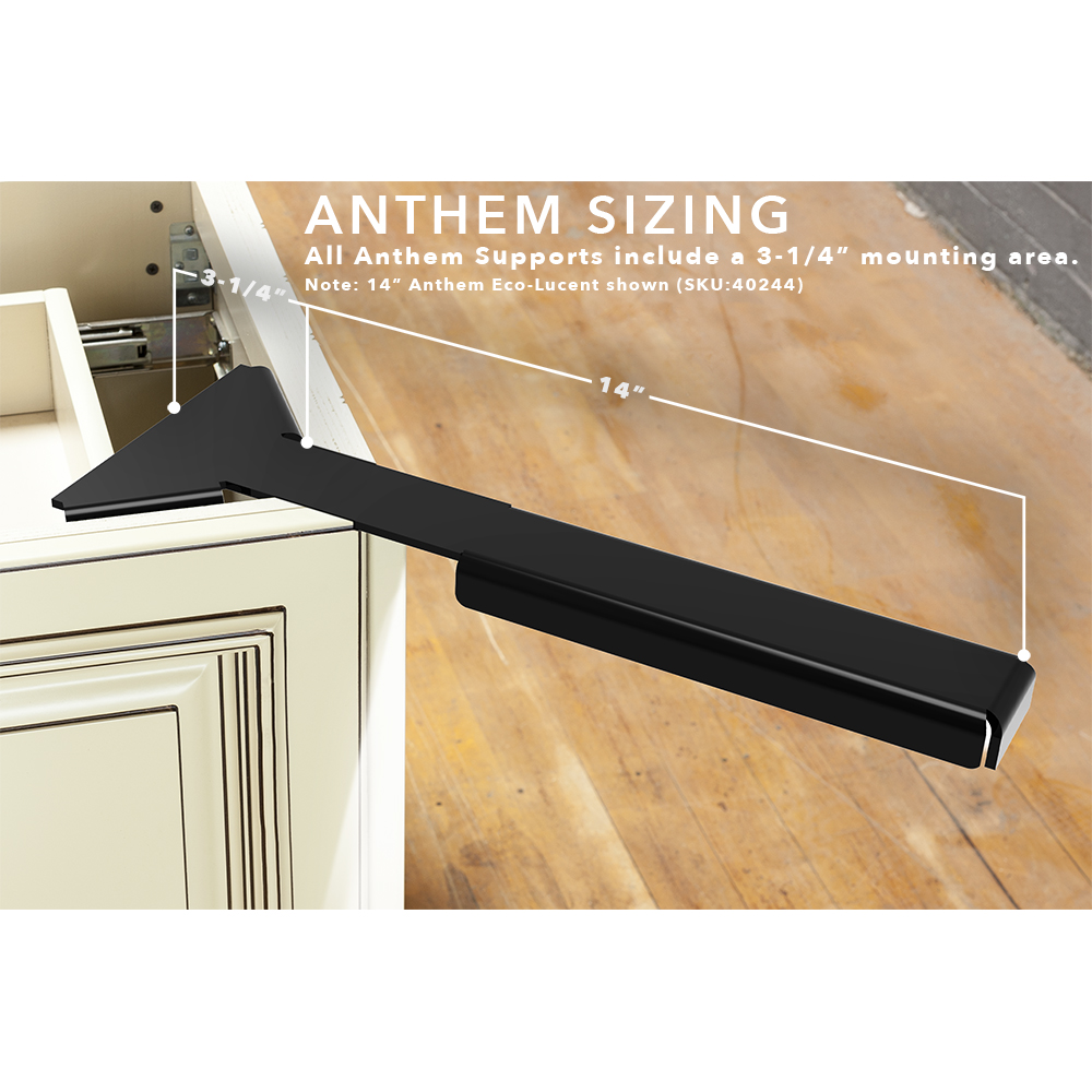 Anthem Eco-Lucent Corner Support