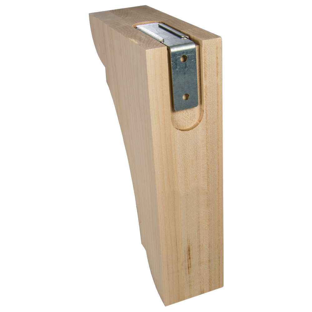 Wood Corbel Bar Bracket
