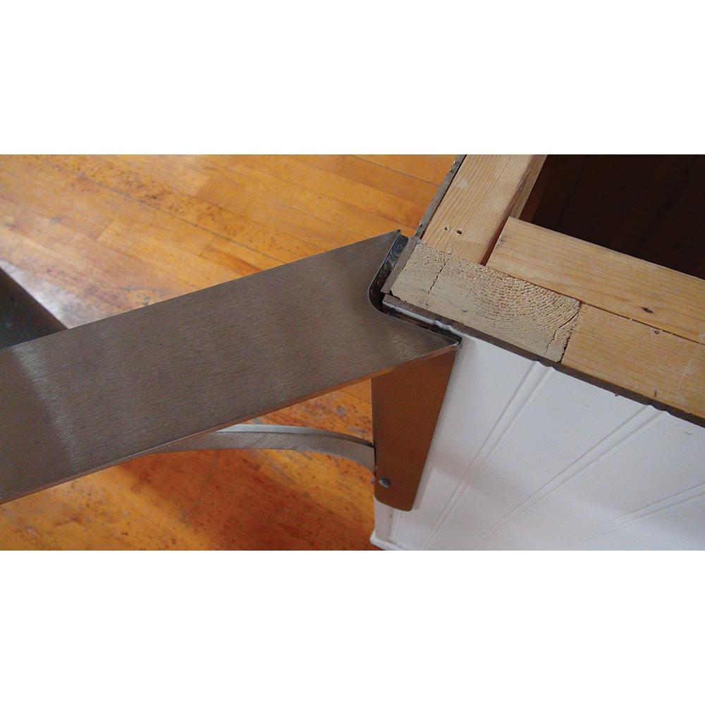 Ashbury Low Profile Corner Bracket - Clearance