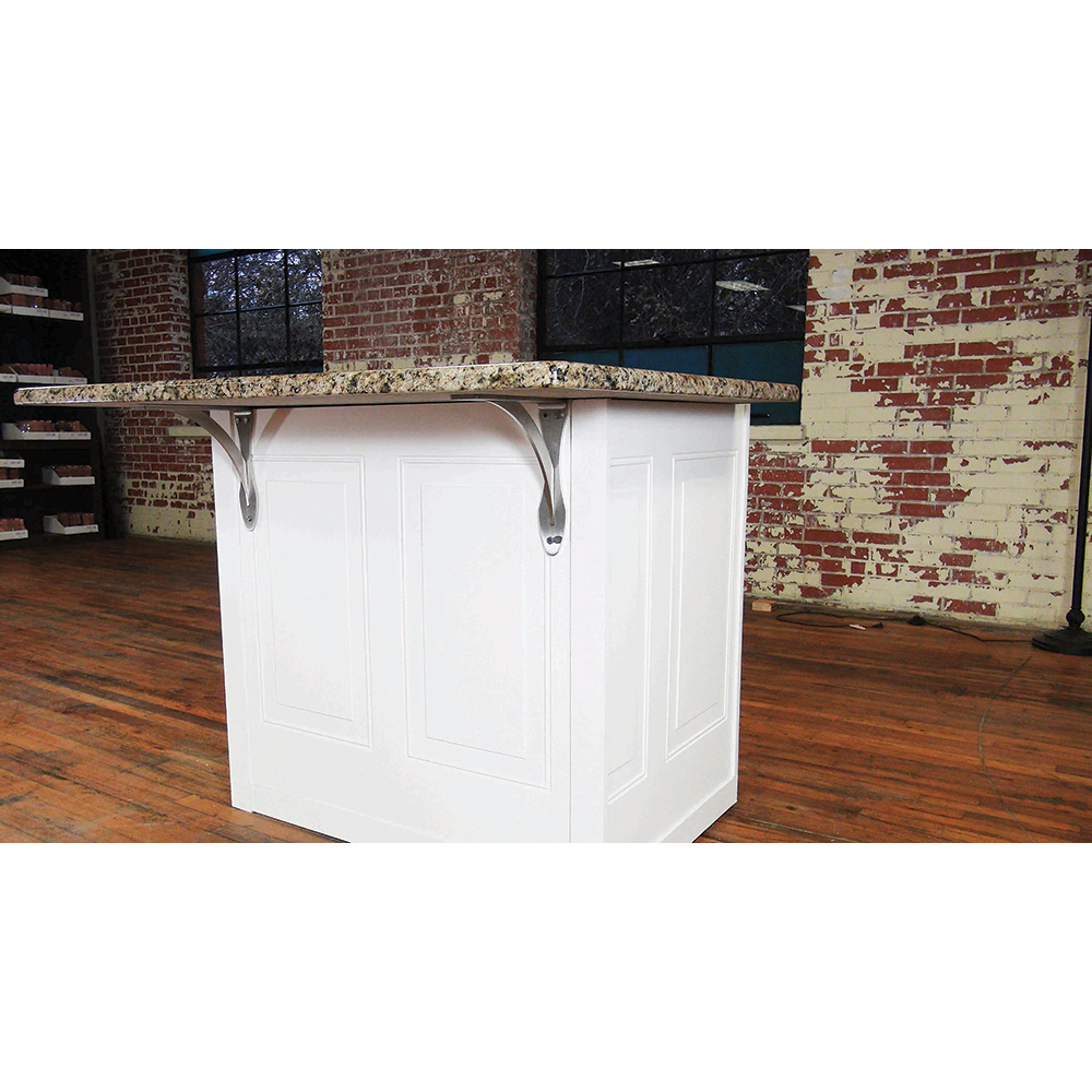 Torii Countertop Support - 10x2x10 - Stainless