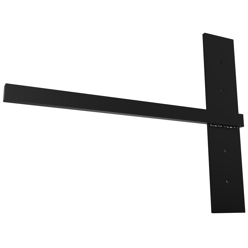 Stud Mounted Floating Shelf Bracket