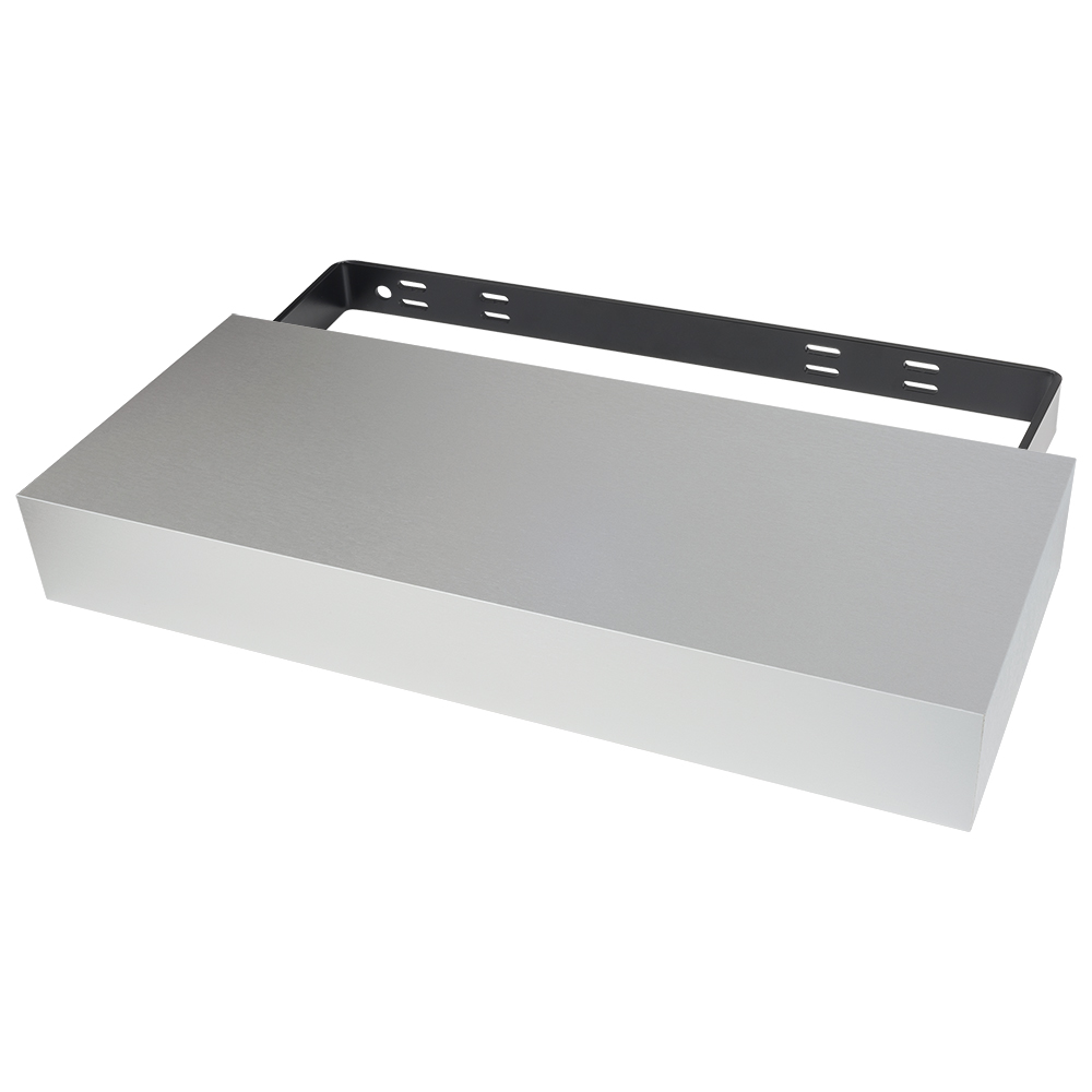 Gray Classic Floating Shelf System (Clearance)