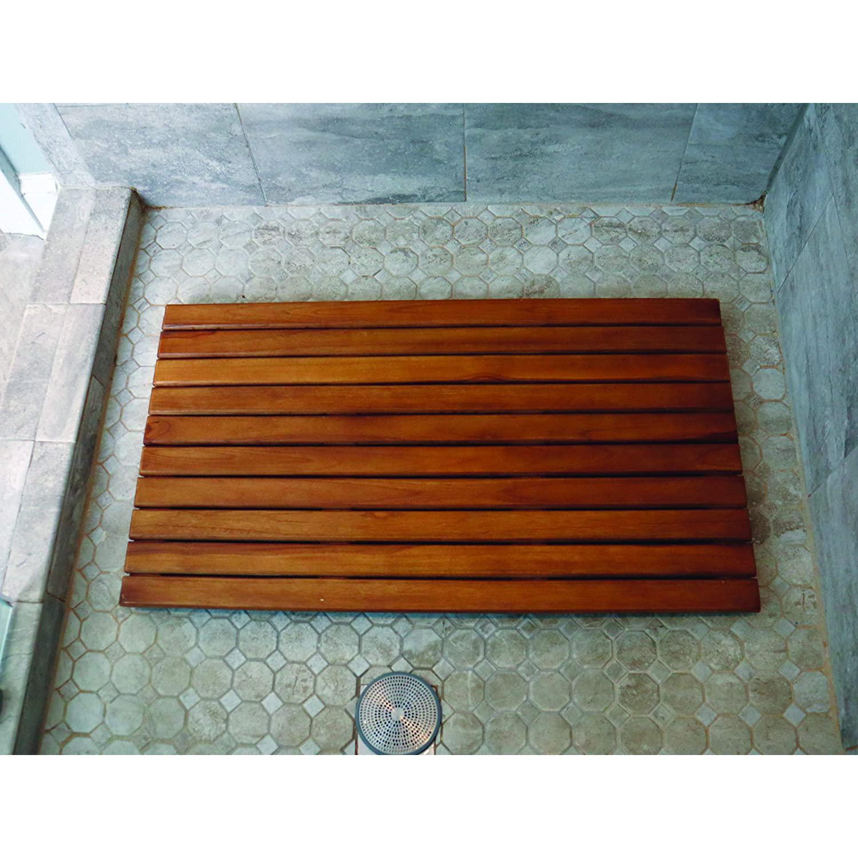 Lap Teak Shower Floor Insert