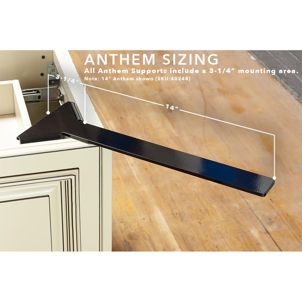 Anthem Hidden Corner Overhang Support