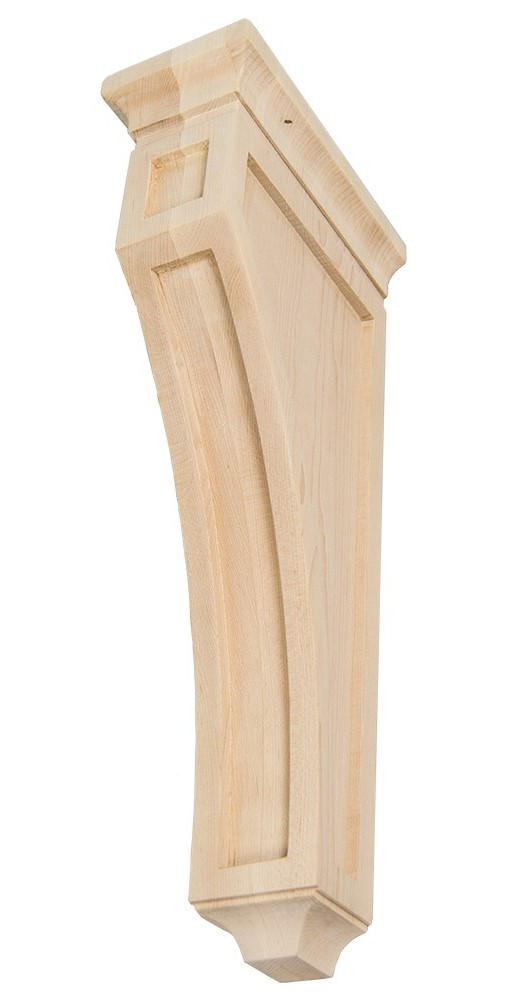 Maple wood corbel