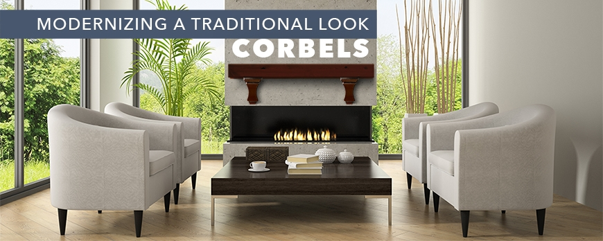 Modernizing a Traditional Look: Corbels