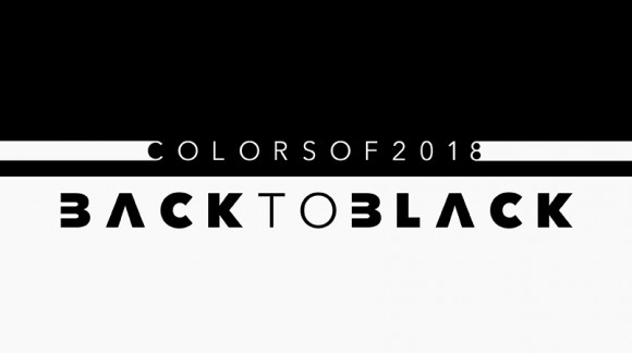 Colors of 2018: Back to Black
