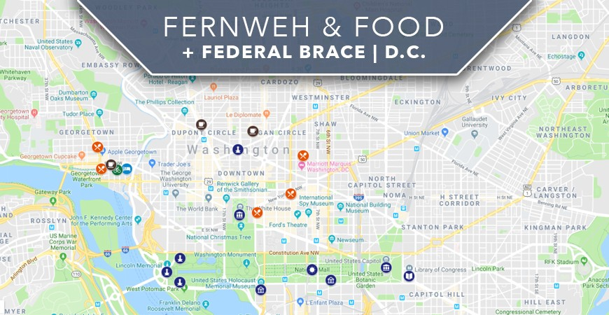 Fernweh & Food + Federal Brace | D.C. Blog Takeover