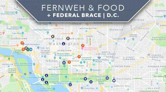 Fernweh & Food + Federal Brace | D.C. Blog Takeover