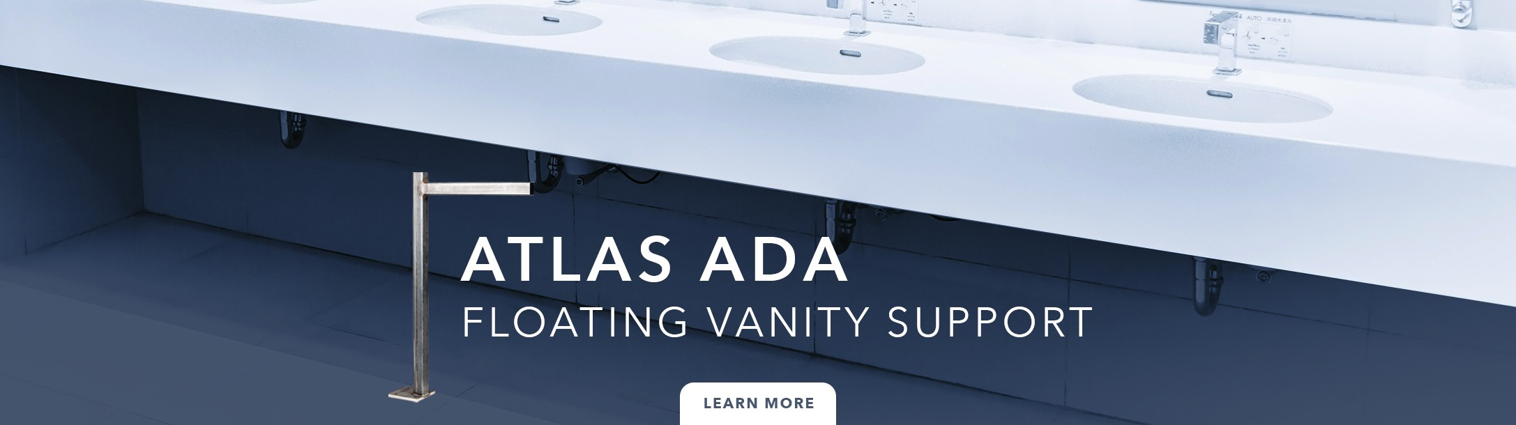 Atlas ADA Floating Vanity Support